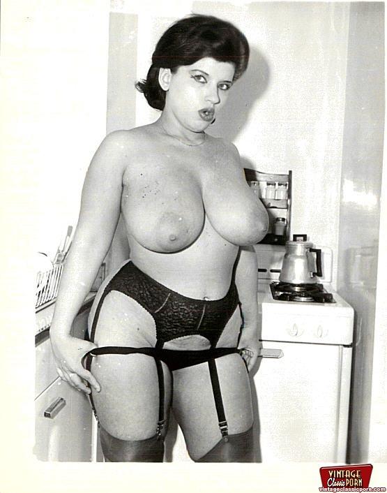 Big boobs vintage natural