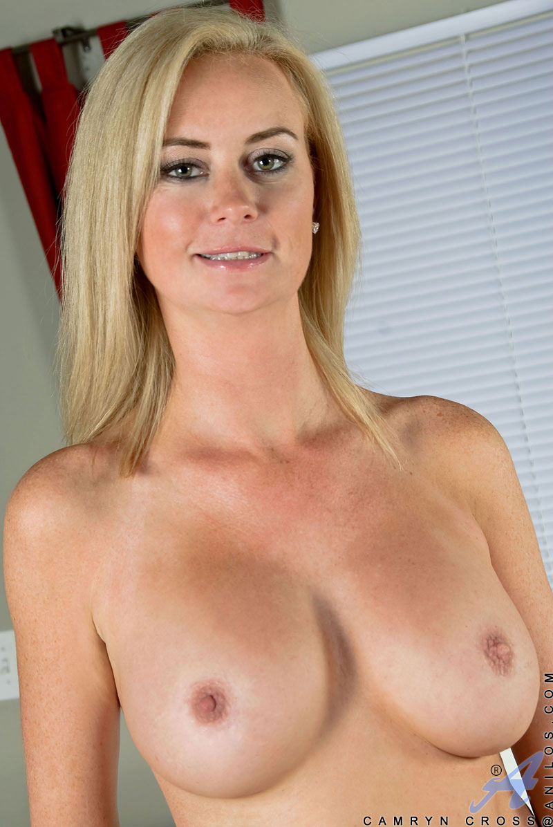 cross camryn Blonde cougar