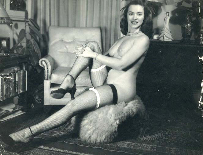 винтажное эротическое фото