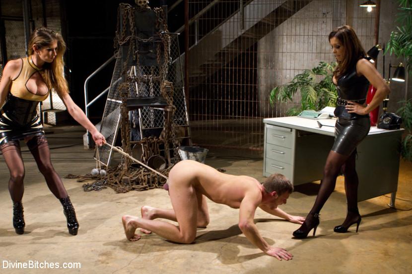 Мущитикина в рабстве у женщин