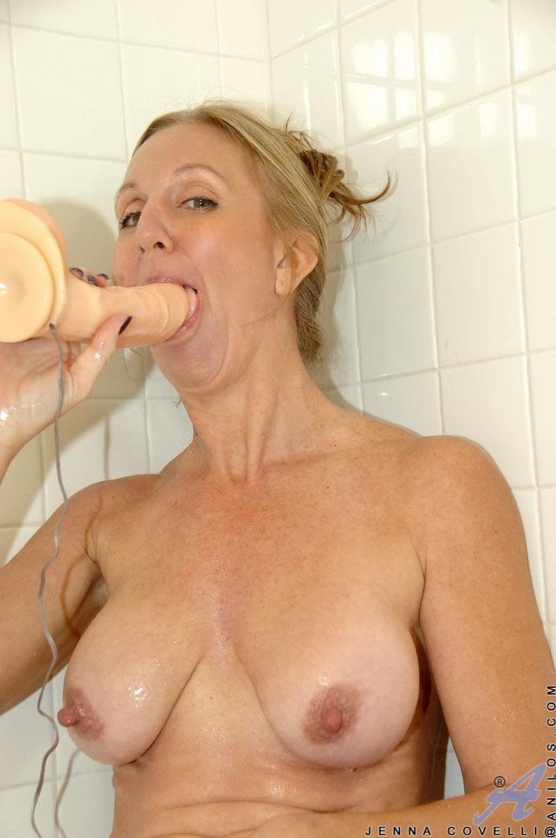 Anilos Com Jennacovelli Dripping Wet Milf With Big Tits Fucks A Huge Toy  Photo 11   Anilos