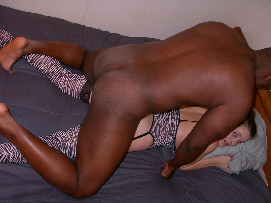 Hot amateur interracial wife video