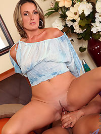 Hairy old milf