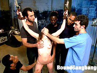 Pysch Ward gang bang sex hardcore : In this fantasy role-play update Seda plays a patient at a Mental Health Facility who is being used for sex by the hospital staff. When she tells her doctor of being hung upside down and made to suck an orderlys cock she thinks her doctor will be on her side. Little does she know that not only is her doctor aware of the abuse, shes been orchestrating the whole thing. Without the help of her doctor Seda has no way out of solitary confinement, and no way out of her sexual servitude! Update includes gang bang sex hardcore in bondage, double penetration, double vaginal, and several loads of cum all over Sedas helpless body!