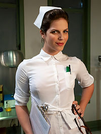 Anal Antics... Ivy Mokhov : Ivy is a brat who needs to go to Nurse Starr. While there she gives some lip and needs to be restrained during her enema and does not do a very good job listening to the nurse.We had some technical problems during a shoot which caused us to end early but with the first scene done I thought you might like to see a little alternative enema action.