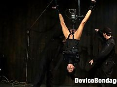 Bound in a straightjacket, inverted suspendedFucked by a machine, made to suck cock and zippered. buy fucking machines : Live Show Mondays brings you part 3 of 4 from the October live show that featured Gia DiMarco, with Maestro co-fucking.We place Gia into a custom made straightjacket. She is bound up so compact and so tight that she has no hope of escaping this cloth device. However we dont stop there, we then suspend her upside down. Then we put one of the most powerful buy fucking machines on the planet into her wet pussy. Omega fucks orgasm after orgasm out of Gias helpless body. Gia must learn to multi task as Maestro face fucks her with his rock hard cock. We add a zipper to Gia sexy legs and soon the mutli-tasking gets down right impossible...