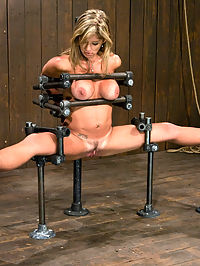 Felony The Mom next door. huge tits downloads : Our favorite MILF is back and more helpless then ever. Her huge tits downloads and swollen pussy are at our disposal. Bound in splits and impaled on a huge dildo, with vibrator stuck on her swollen clit, Felony is helpless from the start. With a huge ring gag and the orgasms that she cannot stop from ripping though her body, Felony is soon leaking fluid from all holes. Throw in some great nipple torture, flogging and hard foot caning, and we have somebodys mom cumming like a whore.