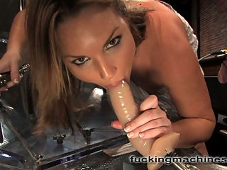 Starring Flower Tucci college to fuck : Its hard to say who fucked who in this weeks update with the unstoppable Flower Tucci. Flower takes the machines hard, fast, in the pussy, in the ass and in her mouth as she cleans all her squirt off every dick. The pussy camera is back in action for this squirting machine and it gets a healthy dose of cum with every orgasm the machines pound out of her. The intruder finally wins Flower over by getting the last of her cum out. However, just when the machines are being powered down, Flower learns that the Intruder has never been used at top speed and she simply cant leave the set until we try to get it all the way up to ten. Now even the most experienced machine shaggers can barely make it past four. But Flower puts her pussy where her mouth is and takes the machine at full throttle 500 RPMS. And it still isnt over! Flower throws down the squirting gauntlet for Annie Cruz and challenges the Fuckingmachines reining champ to a squirt off. Flower loves college to fuck as much as she loves to compete so now it is up to Annie to accept the Flower Tucci challenge. Annie are you game?