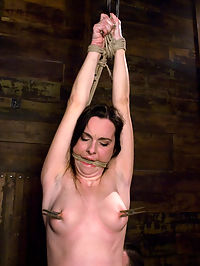 Winter Sky Fresh from the Casting Couch to Intense Orgasms! she is cumming : Winter Sky was so amazing during her Casting Couch shoot that I hired her on the spot for a full Hogtied shoot. Here she is cumming in all her glory... She started out all ready to go and her pussy was wet from the moment the ropes went on... then once we were rolling along she realized just how helpless she really was and the intensity started in. Watch as a LA porn model goes from mainstream to extreme in one sitting... Her orgasms are ripped from her time and time again till she is cumming spent.