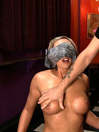 Skylar Price she is cumming : Skylar Price goes on a trip to the bar with Princess Donna, Mr. Pete, and James Deen, and gets completely worked over. she is cumming made to clean the floor with her clothes and her naked body. Shes used as an ashtray, humiliated, bound, fucked, double penetrated, strap-on fuck by a cute random girl, smacked, spit on, made to squirt for the first time ever, and then left handcuffed in the bathroom.This Public Disgrace shoot is amazing, and wild, and you dont want to miss it!