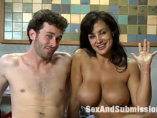MILF Submission episode 2 Lisa Ann hardcore sex films : Lisa Ann does her first BDSM hardcore sex films scene with James Deen for SexandSubmission.com. Lisa Ann has her own adult talent agency and appears as Sarah Palin in Eminems new video, We Made You. In this hot MILF scenario, Lisa Ann plays an art teacher who hooks up with one of her students. She prefers to by submissive and likes rough sex. James dominates and fucks her hard while shes bound helpless.