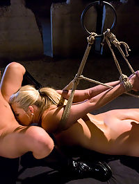 In Treatment free lesbian sex : Jordan Kingsley talks to her therapist about recurring free lesbian sex dreams. She describes her desire to be tied up, punished and fucked by another beautiful women. This update has great strap-on sex and Jordans first time ever fisted which gets her the biggest orgasm in her life!
