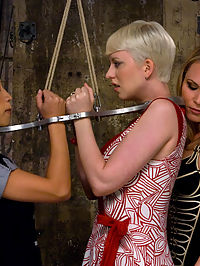 Companion Bitches blow jobs with lots of : Cherry Torn and Tia Ling make suitable companions as they undergo Harmonys strict yet incredibly sexual domination. This is an exciting shoot from start to finish blow jobs with lots of punishment, great bondage and anal sex!