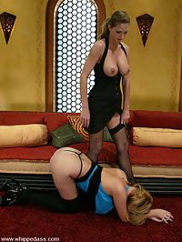 Starring Roxanne Hall, Vanilla Sky in the ass : Vanilla is introduced to S and M by Roxanne Hall. She is trained to be obedient and to pleasure her mistress when told. Roxanne is excellent with her dialog and in the ass licking and strapon sex are great.