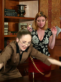 Starring Darling, Chanta-Rose sex and nylons : Darling plays a secretary who pisses off the boss bitch Chanta with her incompetence. Tough punishment and humiliation is Chantas specialty along with some electro shocking, footworship, bondage, strap-on sex and nylons lots of orgasms.