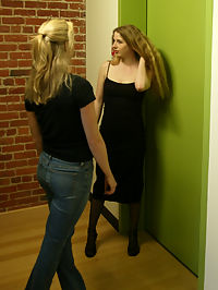 Starring Adrianna Nicole, Chanta-Rose, Princess Kali she is cumming : Seven arrives at her job interview only to find that she is cumming a victim of Chanta and Princess Kalis perverted scheme. Lots of slapping, crops, paddles, strapons, and electric torture in this update.