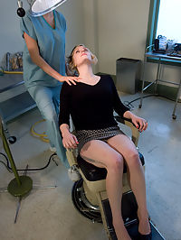 The Dentist cute college girl of the day : Please welcome Sabina to Wiredpussy. Sabina has been a member of the site for nearly 4 years and has long fantasized about getting tied up and dominated with electricity. As a member of the site, Sabina thought she knew what to expect, but as she struggles against the inescapable bondage and feels the sting of electro for the first time, she quickly begins to wonder what she has gotten herself into!!! At the end cute college girl of the day Sabina has been fucked, sucked, and shocked into submission, and her dripping pussy shows that she cant wait to come back for more! This weeks update not only features hot amateur talent, but also a very sexy storyline!Sabina goes to the dentist office to get her wisdom teeth removed, but when she falls asleep from the anesthesia she finds herself tied up in a dirty dungeon with sadistic nurse Princess Donna! Is it fantasy or reality? either way its hot, hot, hot!!