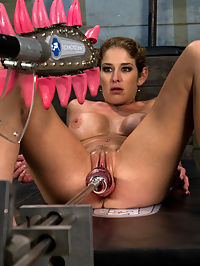 Mechanical Cock Five Ways Fucking Her to a Puddle of Squirt mature big cock : Felony is the Terminator of porn. She sees what she wants - mature big cock - she sees how she wants to fuck it - deep - and then she conquers that cock over and over again. She launches squirt into her own face, covering the set and machines in a total cum bath and keeps asking for more. Its beyond the energizer bunny and its robot meets flesh in a battle for survival! She takes it in the ass, fucks cock bigger than Godzillas dick and does a machine relay where she must endure orgasm denial and brutal fucking between The Sybian and The Fucksalls.