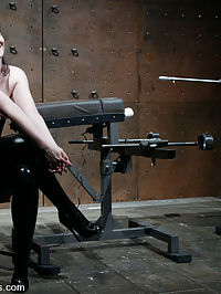 Starring Caroline Pierce fucking machine videos : Caroline Pierce warms up with the Predator, Fuck Rogers and a little bondage before trying Gforces latest invention - a water powered fucking machine videos aptly named, Wet Dreams.