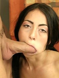 Brunette Coed Goes Anal To Mouth