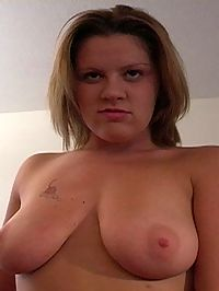 Claire milks cock until it blows load all over her big tits