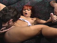 Katja Kassin Gets Painful Double Fucking