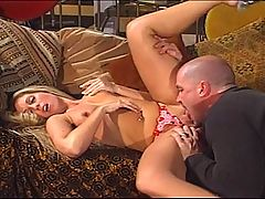 Naughty Blonde Gets A Brutal Anal Fuck