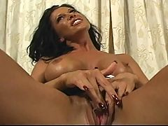 Brunette Whore Takes Painful Sodomizing