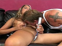 Alicia Takes A Painfully Deep Ass Fuck