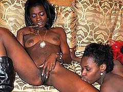 Black Amateur Babes Cum Several Times