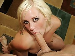 Voluptuous Blond Coed Takes Cock In Anus