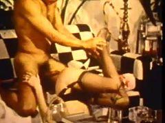 Vintage hardcore anal sex video footage