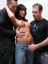 Adriana was doing some shopping when we approached her with some scam movie interview. A couple questions in and we find out shes a sexually frustrated mother, just what we were looking for!!!! We know that every mama can use a couple extra helping hands..... not to mention hard-ons! Check out this sex hungry MILF NOW!!!!