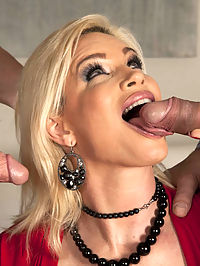 They say that Diamonds are a girls best friend, but Diamond Foxxx is a pretty good friend to men, too. Just how friendly is she? Friendly enough to take two massive cocks deep inside her, and to swallow every drop of the big cum loads that spurt out of those cocks at the end of the scene!
