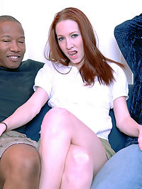 Meet Cadence Calibre a regular valley girl whos not afraid to work up a sweat. One look at the huge cocks we had and she was working up a sweat. She sucked them dry and then spread wide for some foot long injections. cum see how it heats up!
