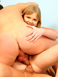 Hot Teen Double Penetration