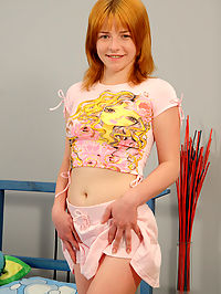 Redheaded teen gets her throat fucked deeply : Madelyn is a redhead that is one of those girls who lives up to the stereotype! Shes got an attitude like normal redheaded girls and she demands to get fucked on a regular basis! But this time its different! Madelyn is gonna be a submissive little slut and get that throat poked until she gags! Then she swallowed a massive load of cum that was shot right in her mouth!