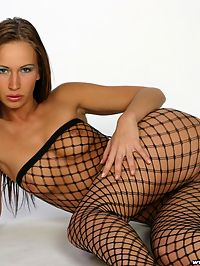 Stunning Czech girl in sexy pantyhose