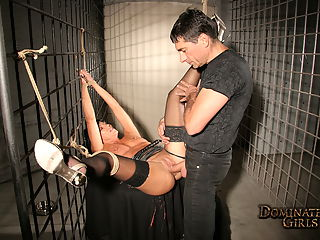 Hot Julia Hunter got dominated by Master Jean
