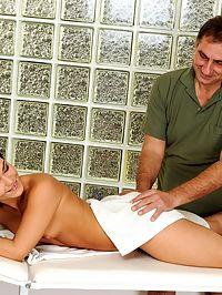 Sandra Rodriguezs masseur was a much older man