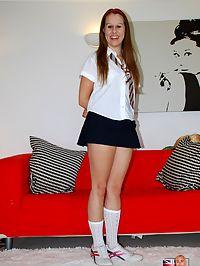 Cute and sexy teenage schoolgirl banged hard by old senior