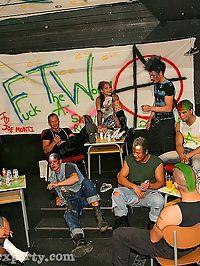 Huge non nude wild anarchist pole smoking groupsex action