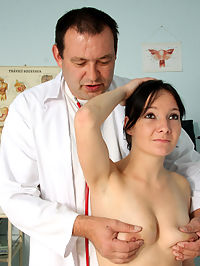 Old doctor shagging his naked blindfolded patient hardcore