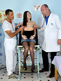 Two very horny doctors enjoy shagging their horny patient