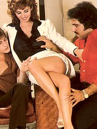 Ron Jeremy and his friend fucking this seventies beauty