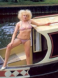 Sailing hairy seventies lady fucked hard on her own boat