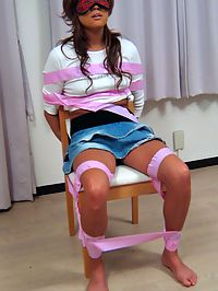 Japanese teenager filled and covered with loads of semen