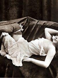 Vintage girls wearing very sexy underwear in the twenties