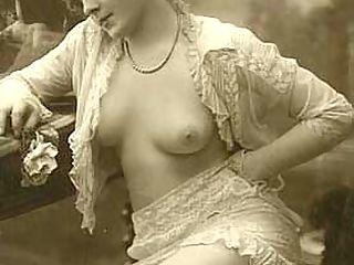 Several vintage chicks wearing stockings in the twenties