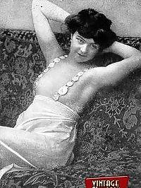 Daring vintage girls wear exotic costumes in the twenties